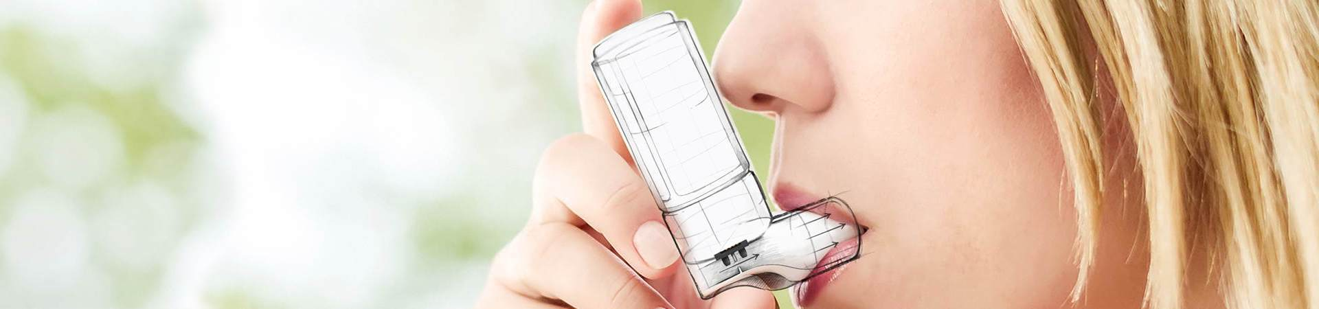 Sensirion Medical Application Inhaler